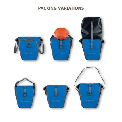 vaude aqua back packing variations