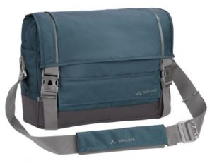 vaude cyclist messenger blue gray