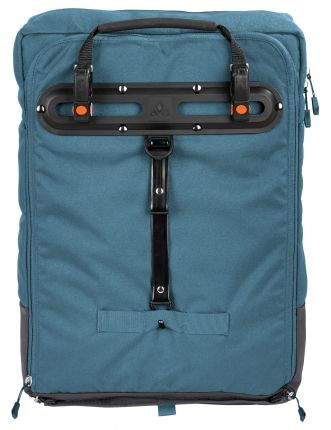 vaude cyclist pack blue gray hinten