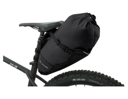 vaude trailsaddle black montiert